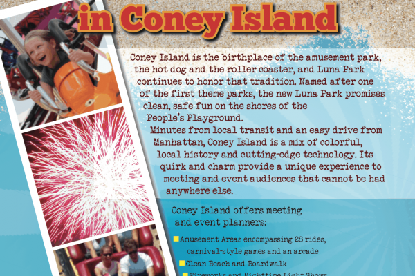 Coney Island Print Design