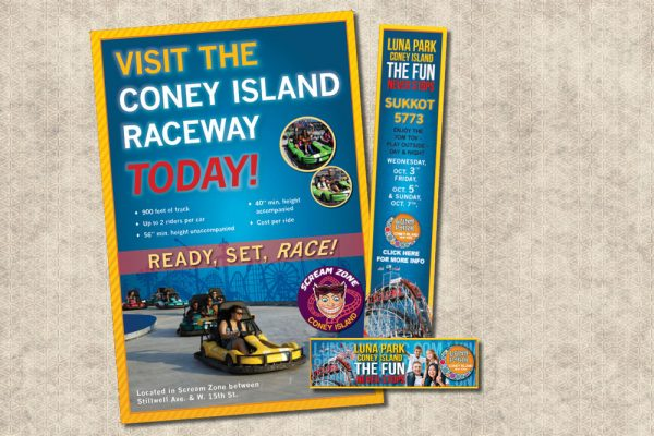 Coney Island/Luna Park Print Design