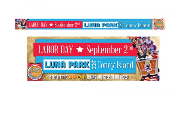 Coney Island/Luna Park Digital Design