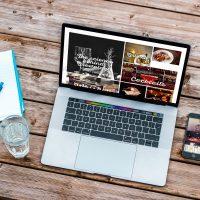 Brewology Website Design Laptop