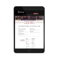 Brewology Website Design Tablet