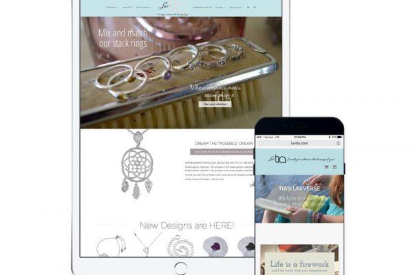 Luvtia Website
