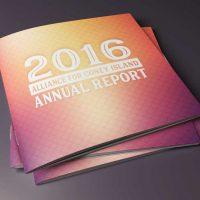 Coney Island Alliance Brochure/Report Design