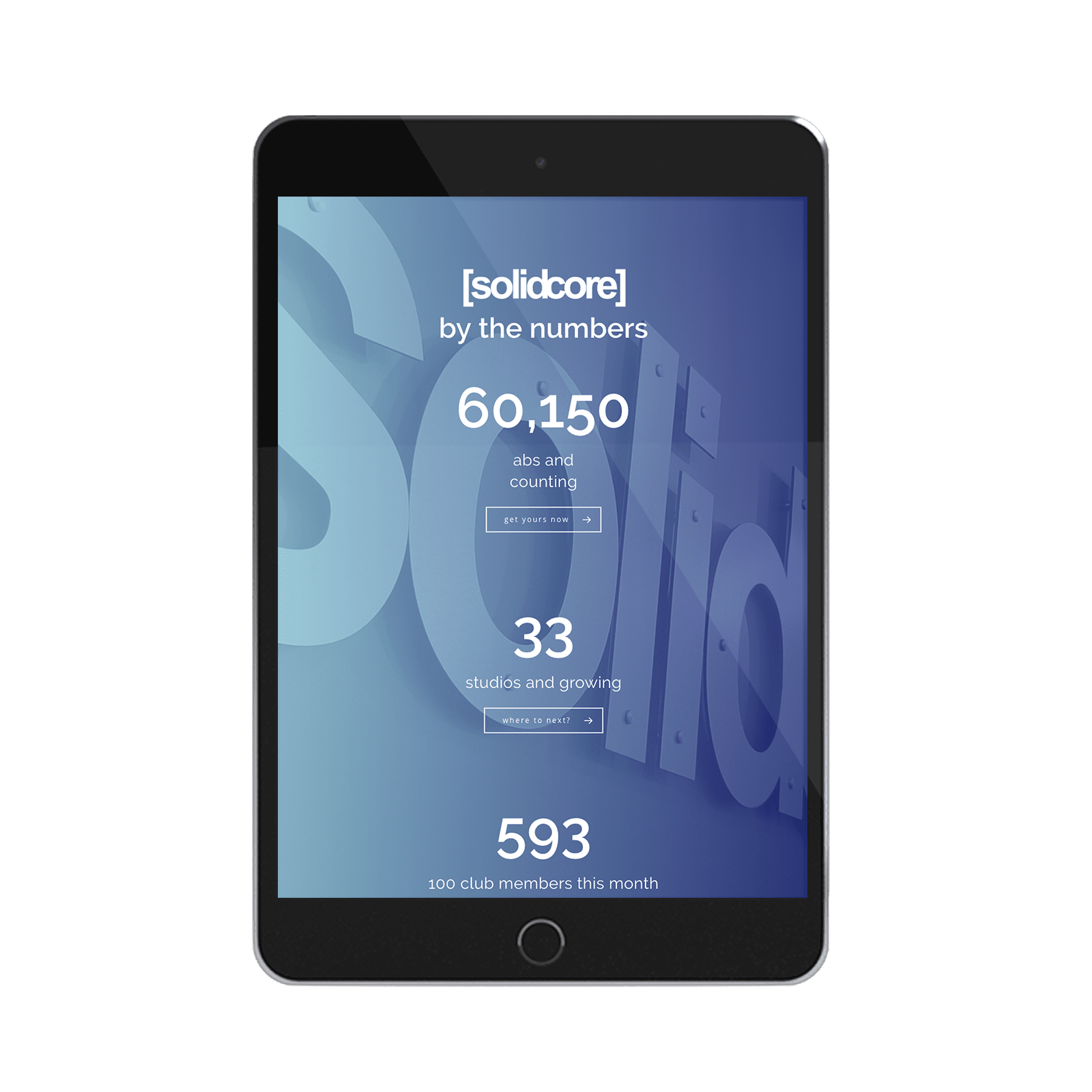 Solidcore Website Design
